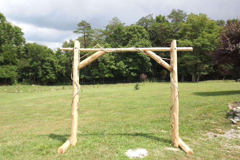 Wedding Arch Handmade Wedding Arch Made Of Cedar. By