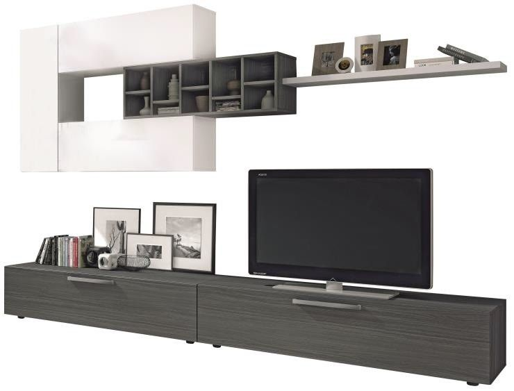 Compacto tv manhattan compactos salones sof s y - Muebles salon conforama ...