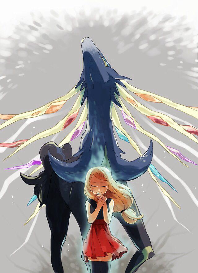 Xerneas y Serena #PokémonXY #KalosQueen