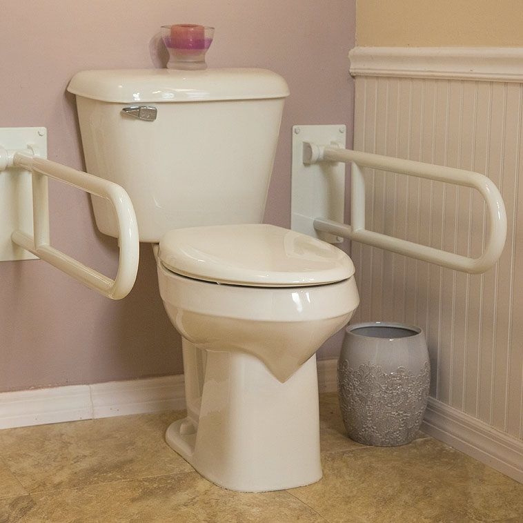 The Premier Care ADA (Americans With Disabilities Act) Compliant Toilet  Provides Added Safety And