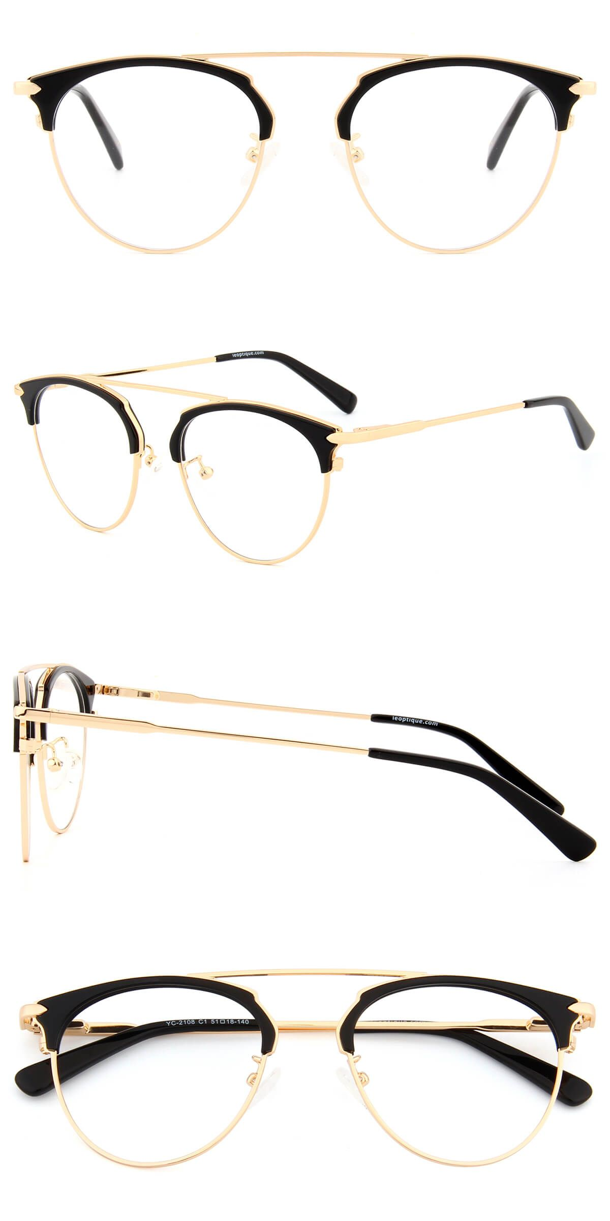 1568775dba The browline shape frame front lead to an old-fashion style with the black  frame