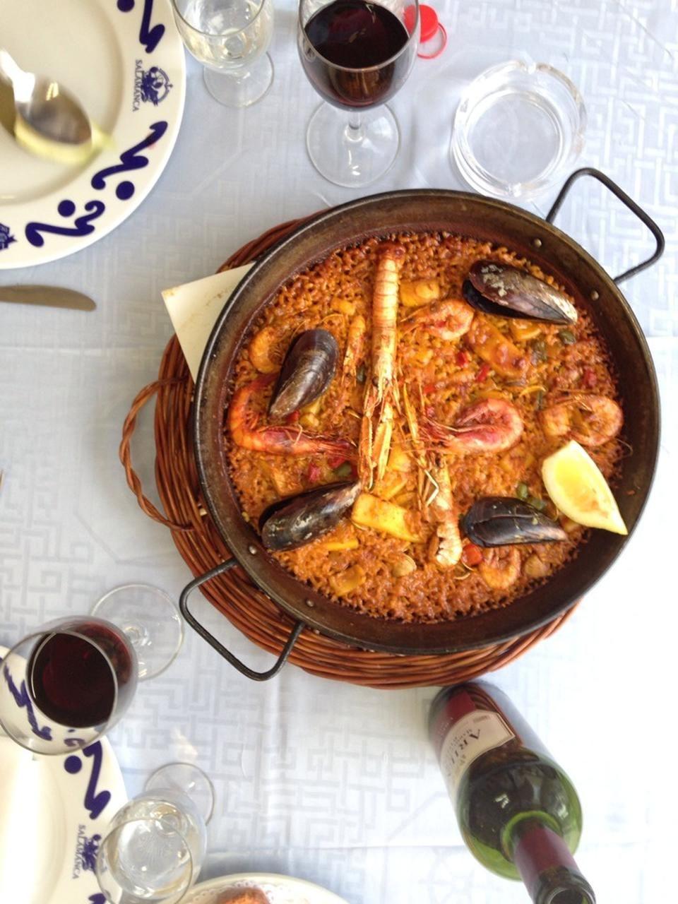 Paella at Salamanca - La Barceloneta - Barcelona, Cataluña