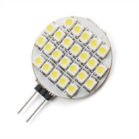 Gu4 G4 10 30 Vol Met 27 Smd Led S 12v En 24v Warm Wit Camper Caravan Of Motorhome Led