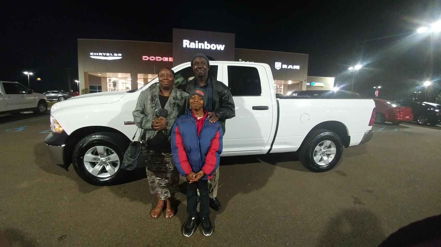 Awesome! Congratulations to Melvin on your new 2018 Ram 1500! Thank