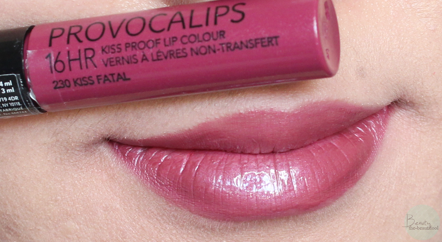 Rimmel Provocalips 16Hr Kiss Proof Lip Colours In Kiss -9847