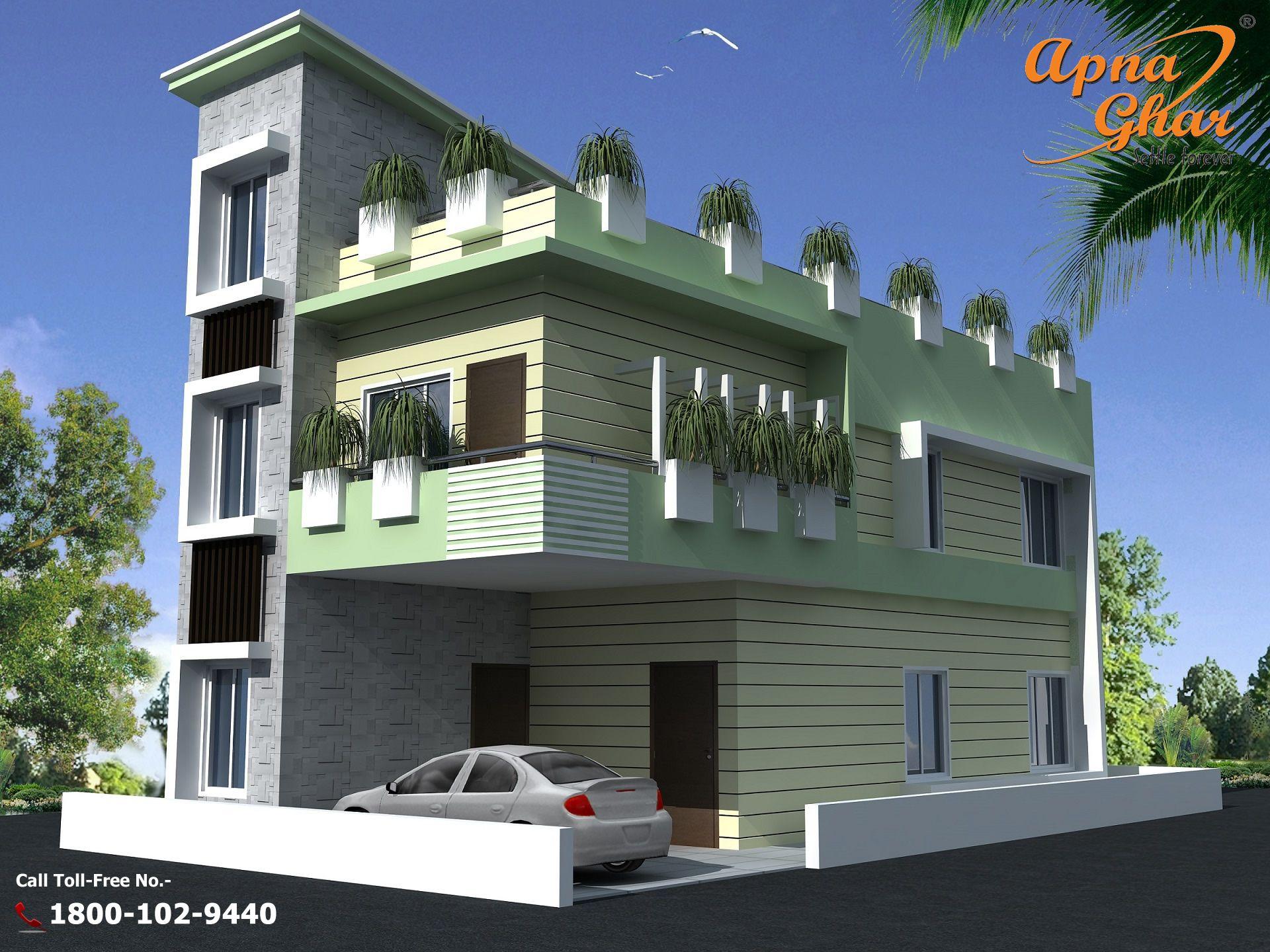 3 Bedrooms Independent Floor House Design in 84m2 (6m X 14m ...