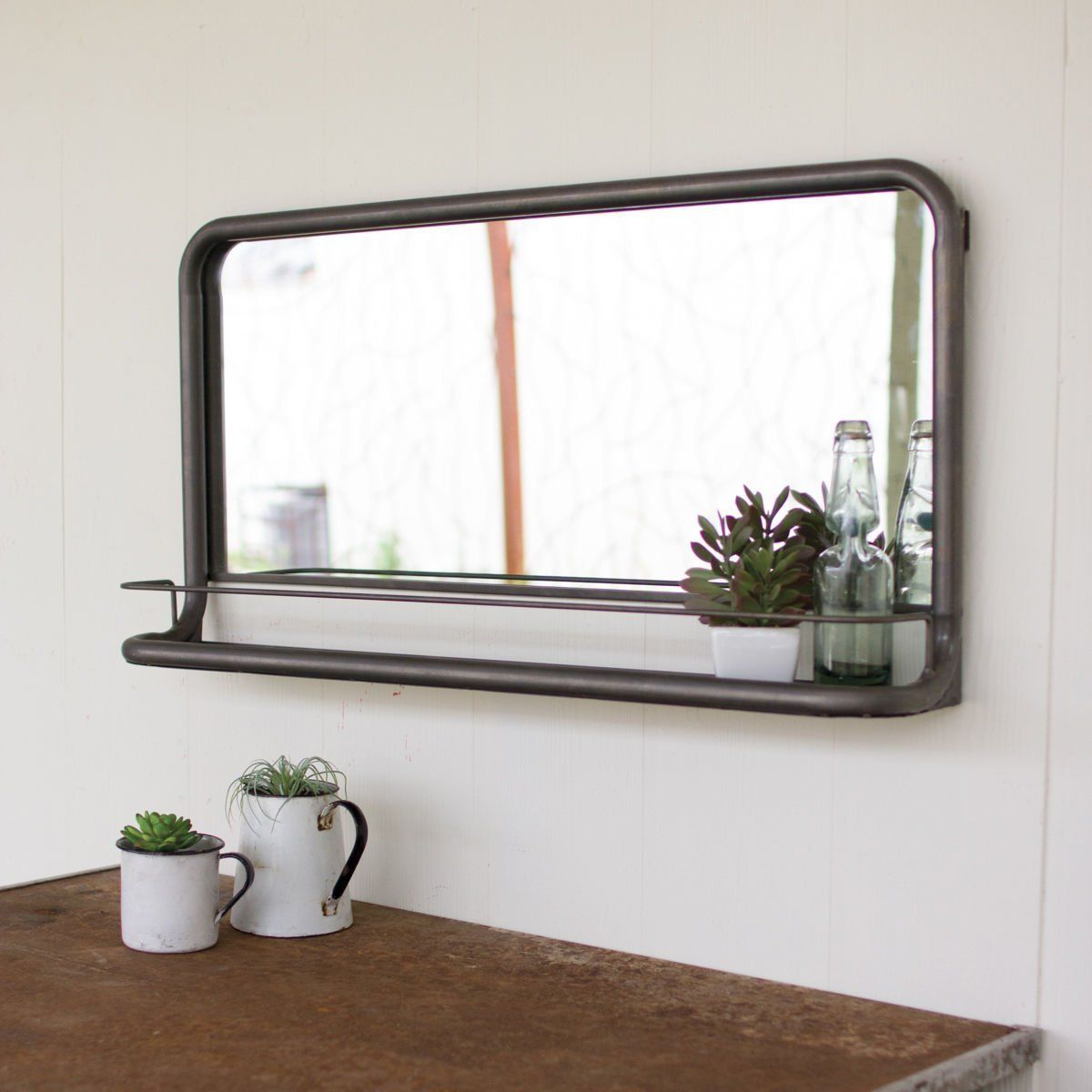 Robot Check Horizontal Mirrors Bathroom Mirror Design Mirror With Shelf