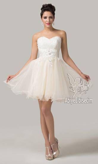 Kisa Abiye Elbise Prenses Model Elbise Elbiseler Elbise Modelleri