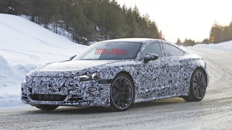 2021 Audi ETron GT spied looking just like the concept