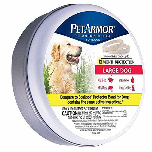 Dog Flea Collars Petarmor Flea And Tick Collar For Dogs Large 2 Count Read More Reviews Of The Product By Visiting The Link Flea And Tick Large Dogs Fleas
