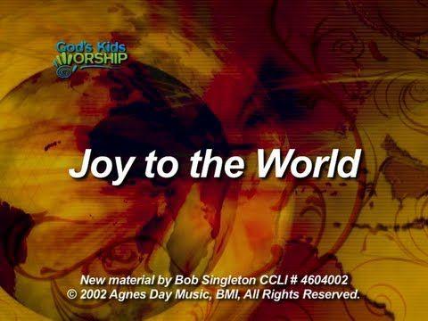 Joy To The World God S Kids Worship Youtube Joy To The