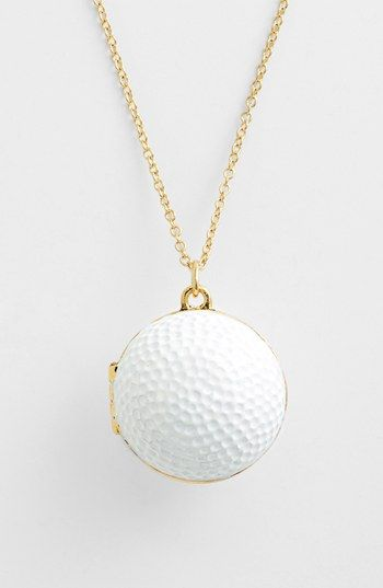 Kate spade new york on par long golf ball pendant necklace shiny kate spade new york on par long golf ball pendant necklace aloadofball Choice Image
