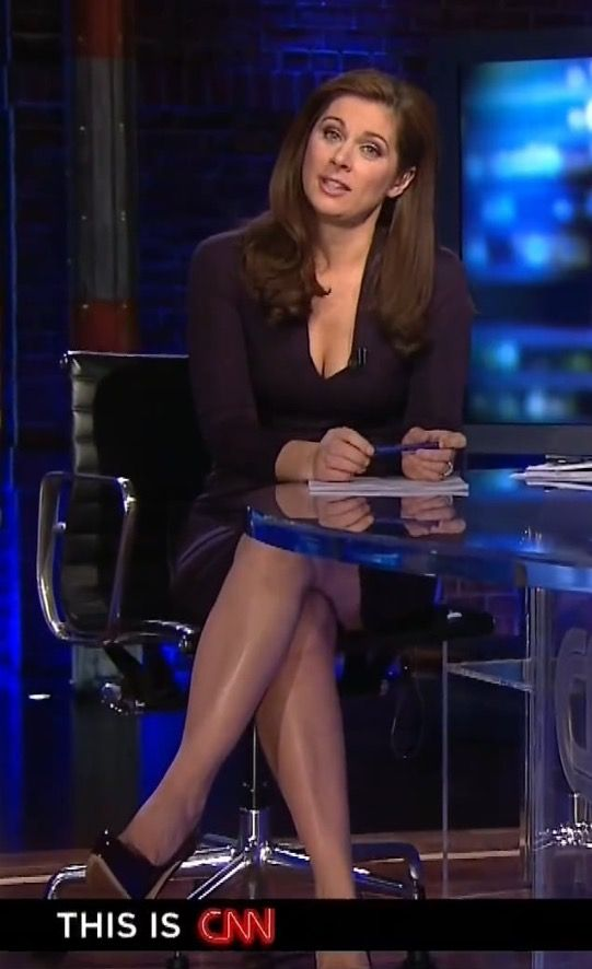 Erin Burnett Sexy Newsbabes Tv Personalities In 2019 Erin