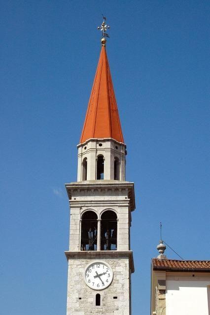Campanile della chiesa di Santa Margherita in località Santa Margherita del Gruagno in comune di Moruzzo (UD). [SIRPAC - Scheda 8364]