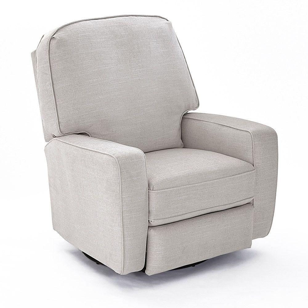 Best Chairs Bilana Swivel Glide Recliner Dove Swivel Glider