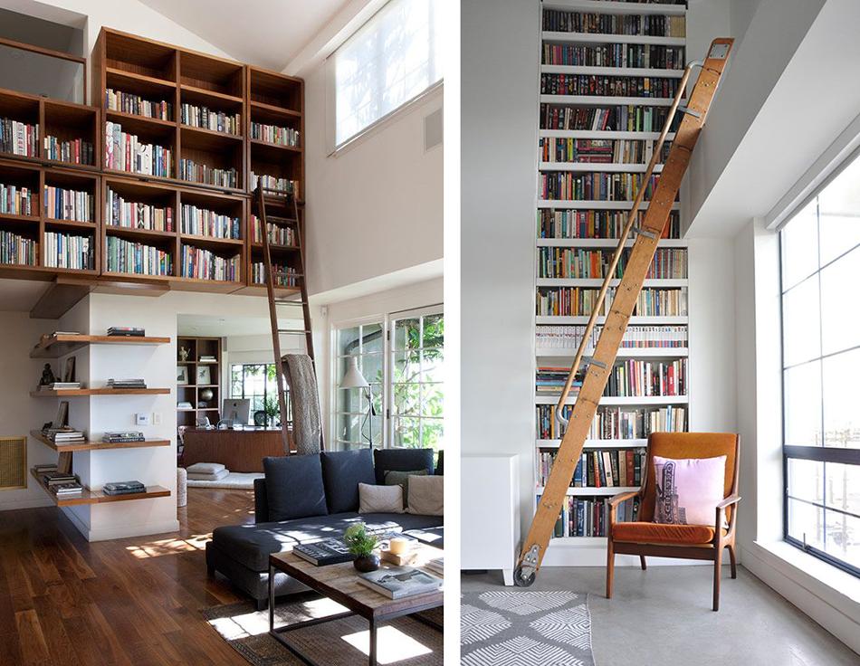 La fabrique d co biblioth ques ranger ses livres dans - La maison de la mezzanine ...