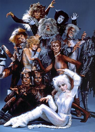 Original Broadway Cast Cats the musical costume