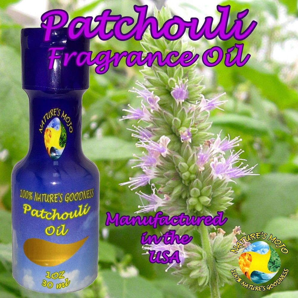 Patchouli All Natural Fragrance Oil 30 ml