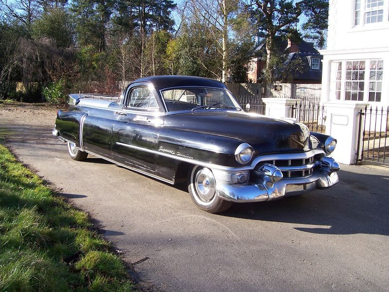 1953 Cadillac Superior Coupe De Fleur Funeral Vehicles