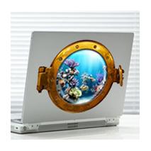 sticker Hublot Aquariun 2 Aquariun 2
