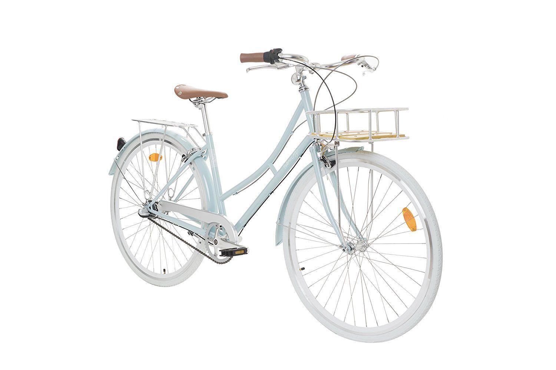 Fabric Cityrad Hollandrad Damen Fahrrad Mit Korb Shimano Inter
