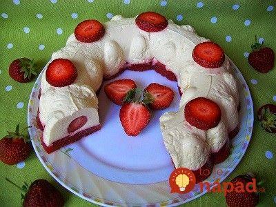 Top dezert z jahôd a tvarohu: Bez cukru a ešte lepší, ako zmrzlina!