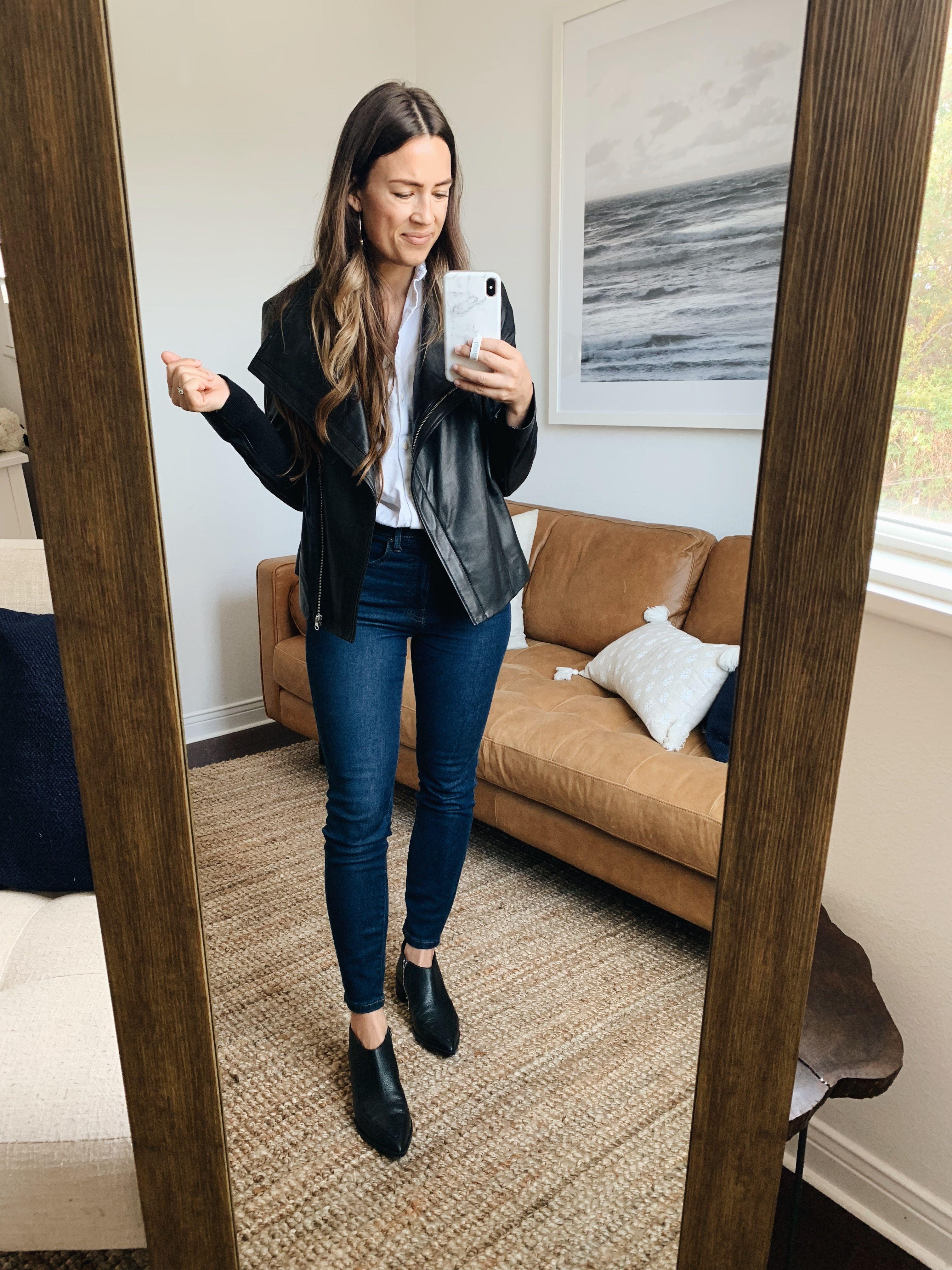 0010a28aae39 5 Ways to Style a Leather Jacket – Natalie Borton Blog
