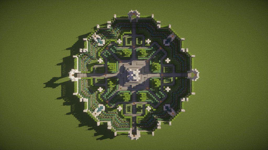 Minecraft Spawn Garden Amazing Minecraft Minecraft Garden