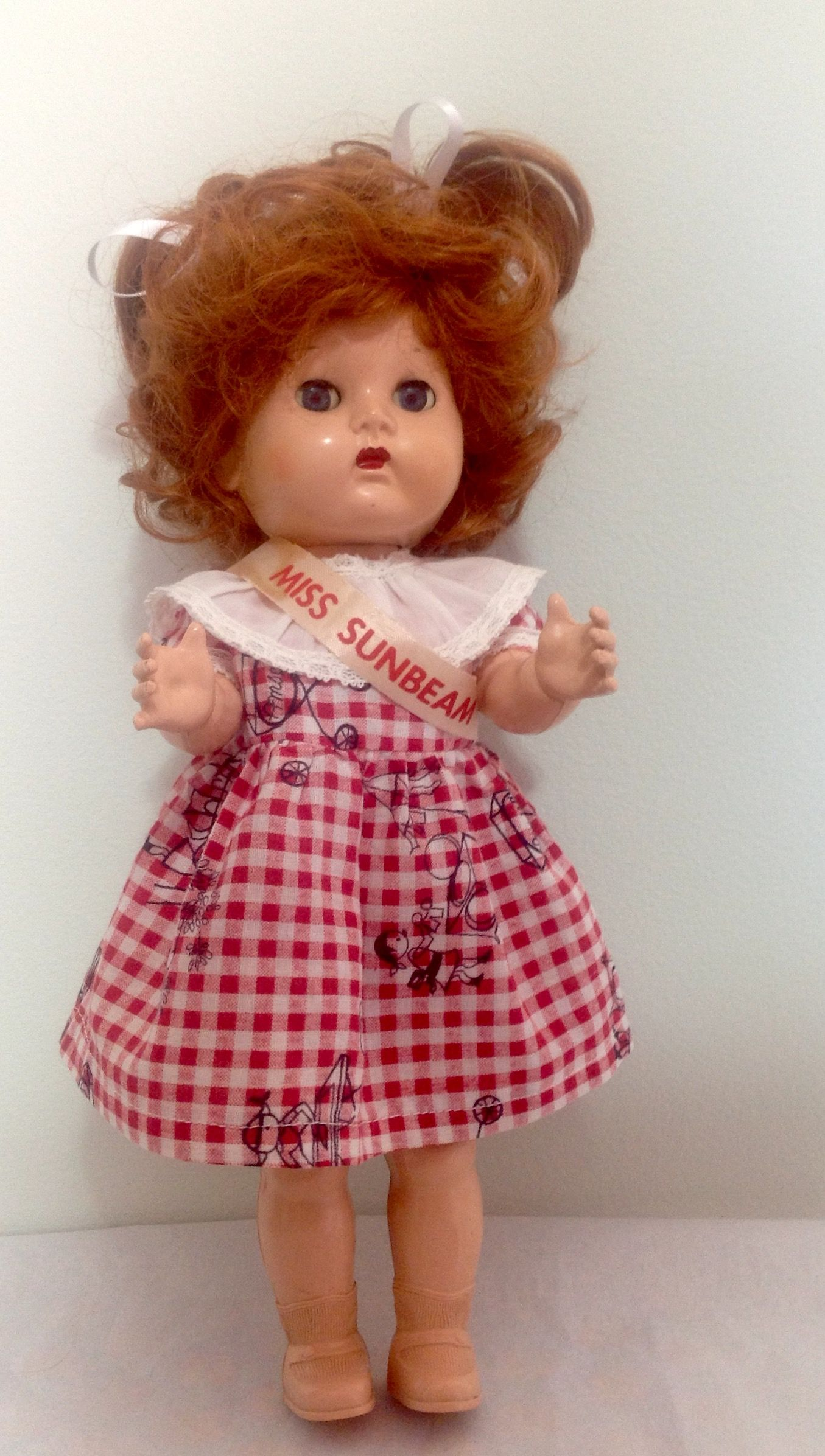 """1950's 12"""" Miss Sunbeam made by Reliable....Canada"""