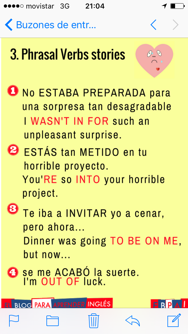 Pin De Clara Postigo En Idiomas Expresiones En Ingles