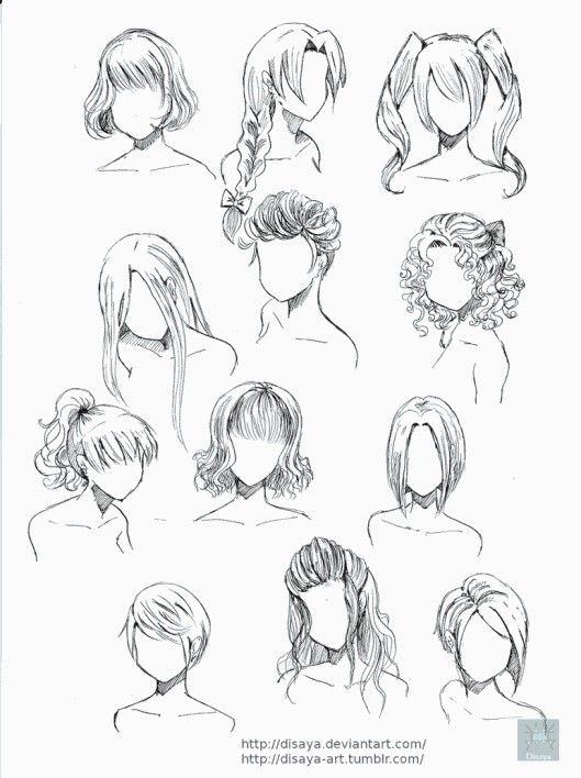 Pin De V M Em Hair Cabelo De Anime Cabelo Manga Desenho De Cabelo