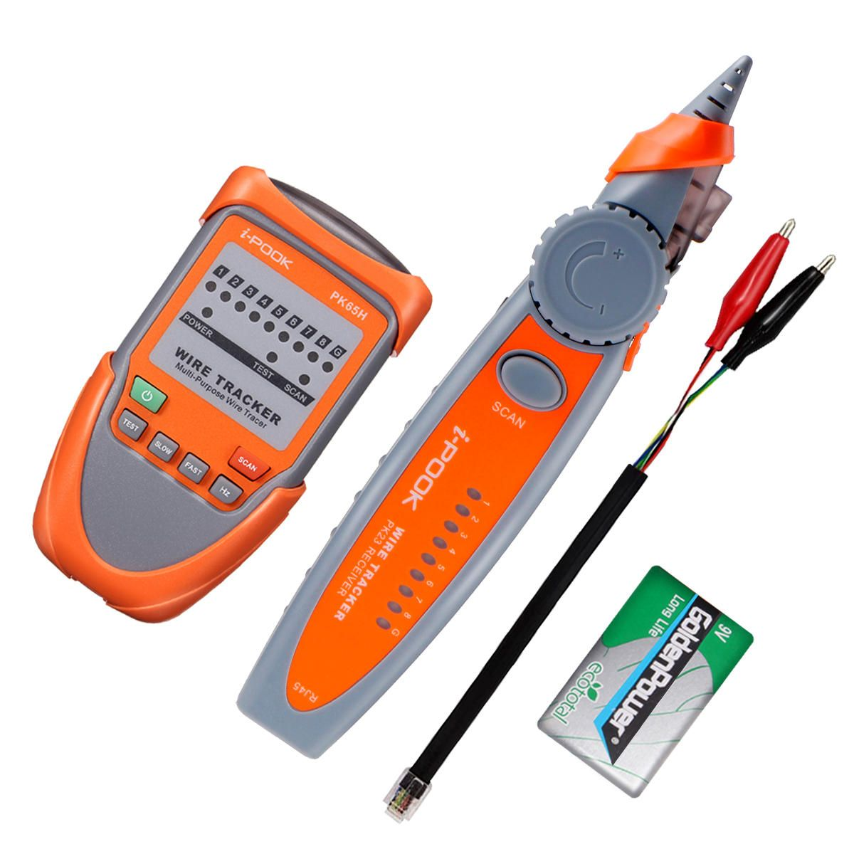 Eivotor Rj45 Rj11 Telephone Phone Wire Tracker Ethernet Lan Network Featured Electrical Circuit Tracers And Testers At Test Equipment Cable Tester