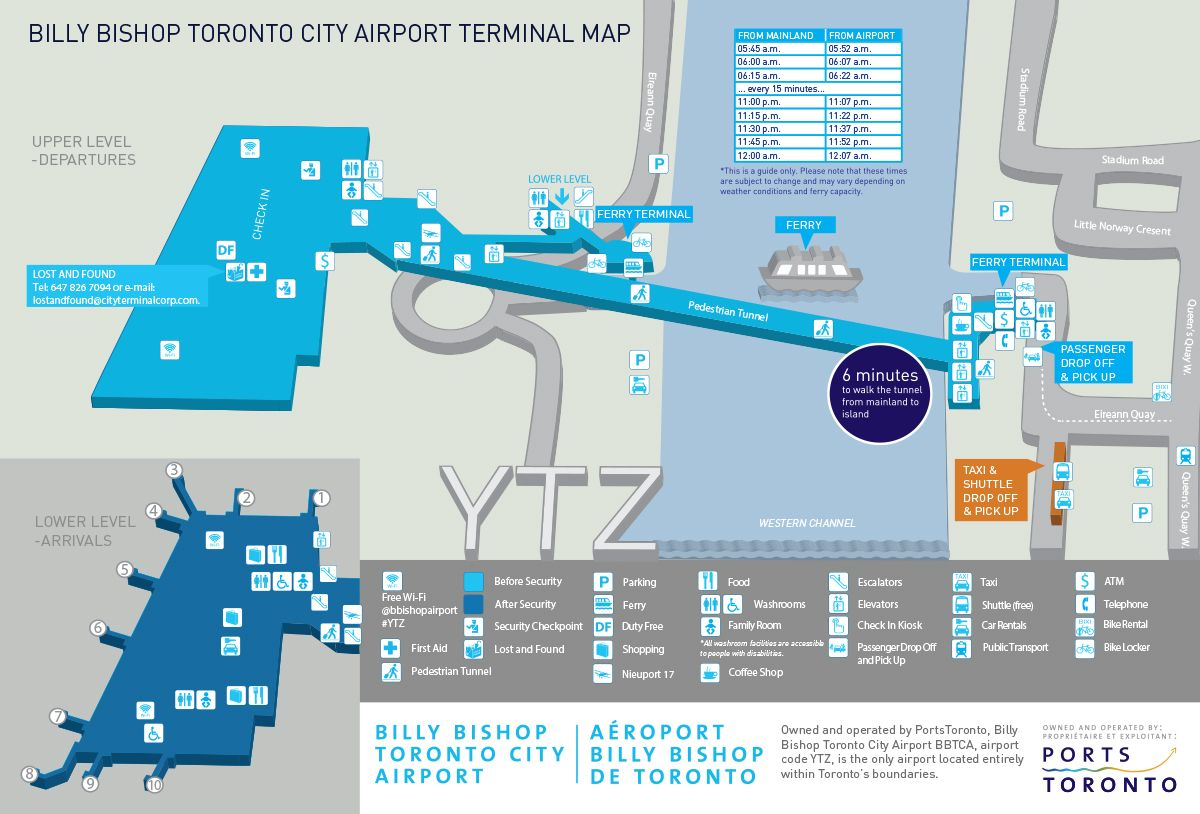 Ytz Airport Map Airport Map | Travel | Map, City, Richard armitage