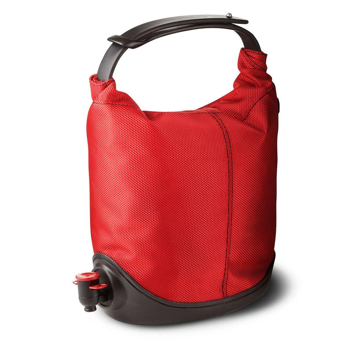 Fab Com Baggy Winecoat Red Menu Wine Purse Wine Bag Wine Flask