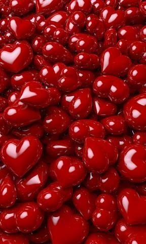 Candy Hearts Photo Backdrop
