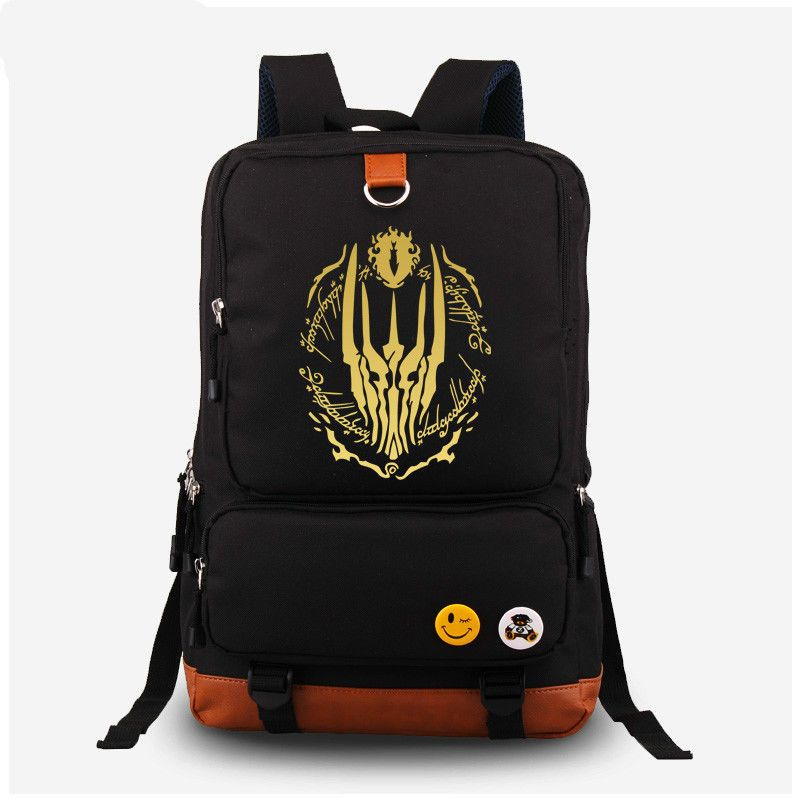 New Anime One Piece Law Backpack Shoulder Bags Sports School Bag Travel Rucksack