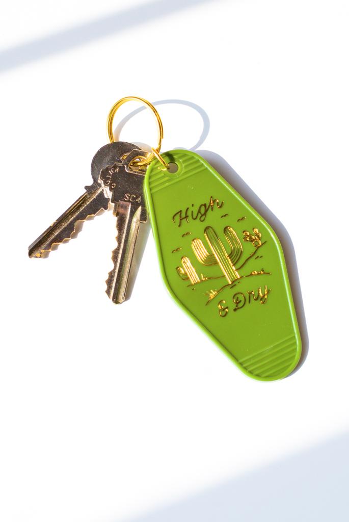 House /& Home Key Ring Silver Acrylic Origin CAR KEYS Plastic Metallic