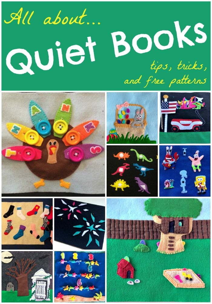 What is a Quiet Book | Muster, Alles und Lesen