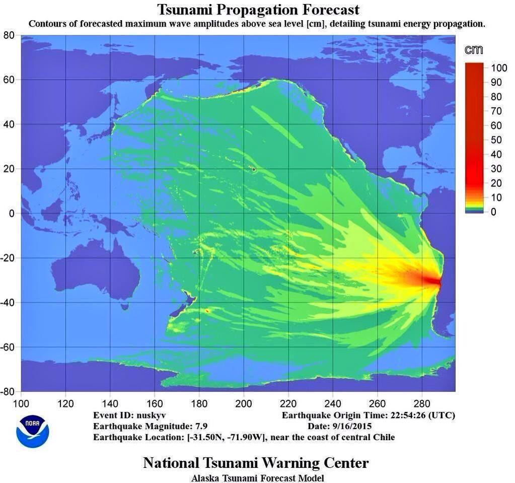 TSUNAMICHILE Terremotos Maremotos Y Otros - Map of us after new madrid earthquake