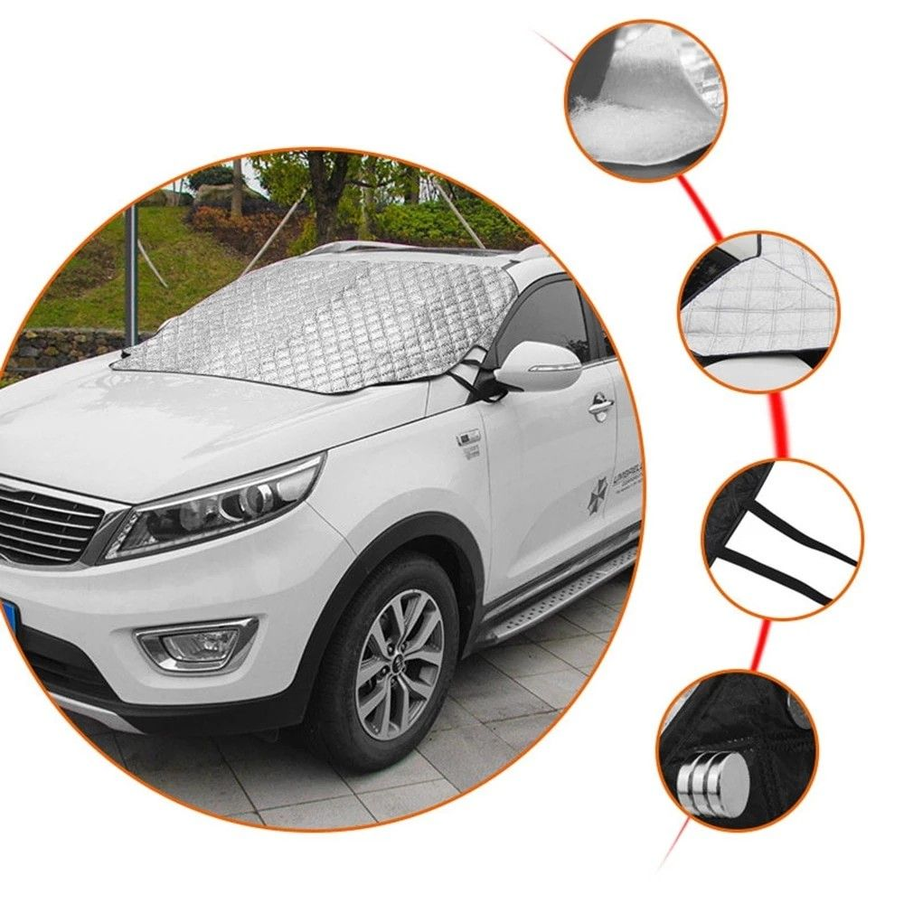 Car snow cover windshield cover universal