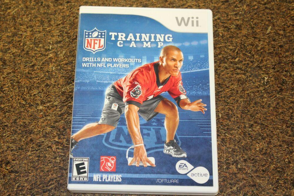 EA Sports Active NFL Training Camp (Nintendo Wii, 2010
