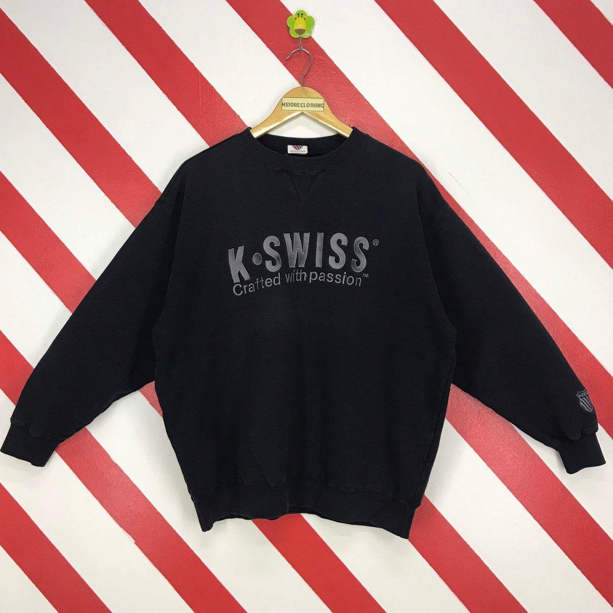 Vintage 90s K Swiss Sweatshirt Crewneck