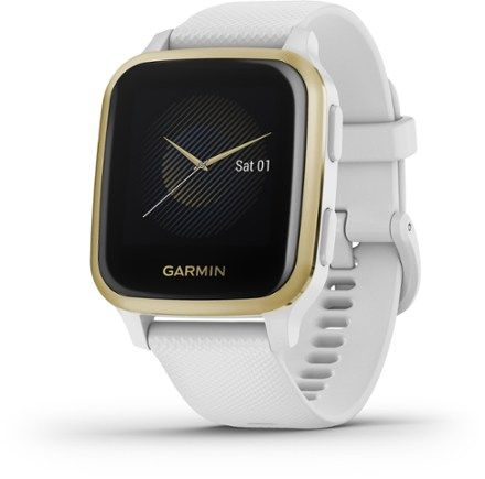 Now is the perfect time to move. Featuring a bright color display  the Garmin Venu Sq GPS smartwatch combines daily style with health monitoring and fitness features that inspire you to keep moving.
