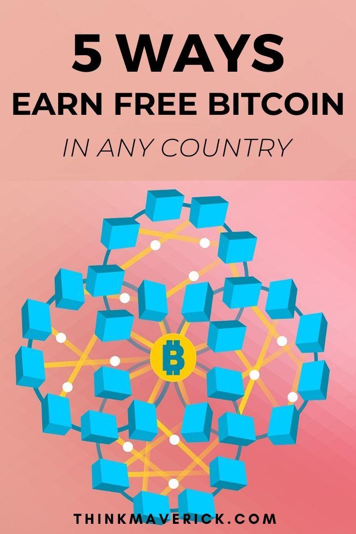 5 Simple Ways to Earn Free Bitcoin (ZERO Skills)