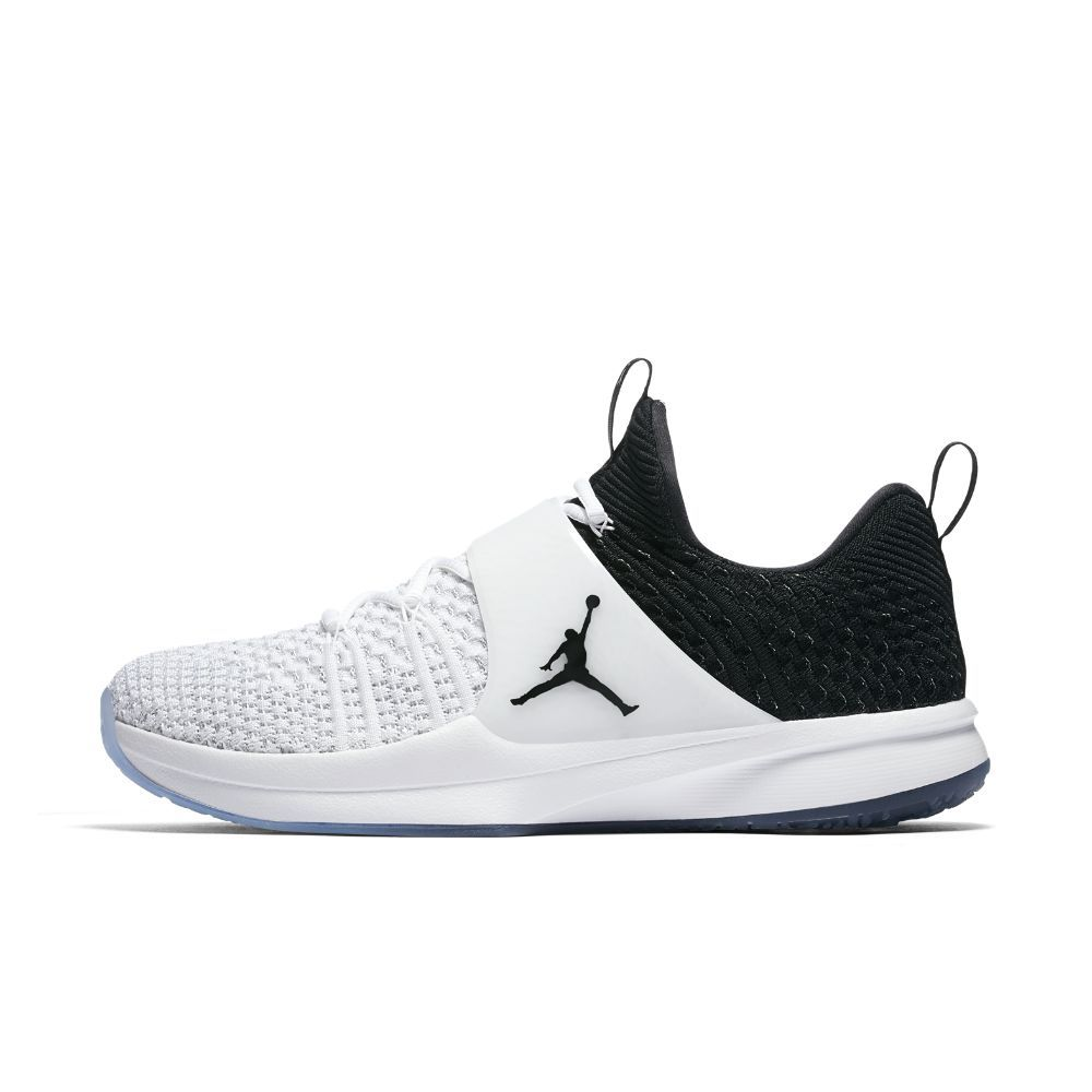 Air Jordan Trainer 2 Flyknit Men's Training Shoe, by Nike Size 17 (White) -  Clearance Sale