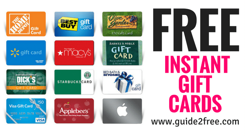 Earn FREE Cash & Gift Cards from instaGC   Free gift cards, Free ...