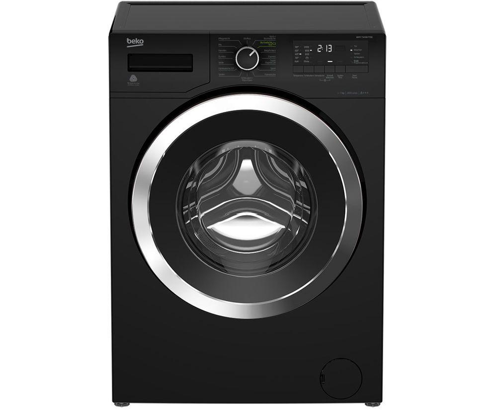 Beko WMY 71433 PTEB Waschmaschine Freistehend Schwarz Neu