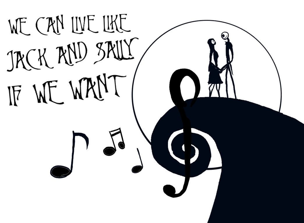 we can live like jack and sally if we want | Blink 182-I miss you ...