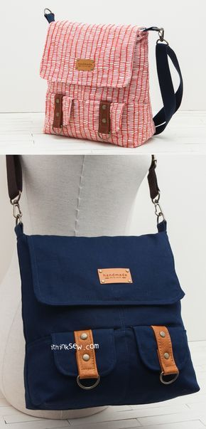 Paget Bag PDF Pattern - ithinksew.com | Taschen nähen | Pinterest ...