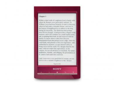 PRS-T1  Lector ultracompacto y ligero con pantalla con aspecto de papel y Wi-Fi®  Desde 180,00 Euros en Sony Store Online